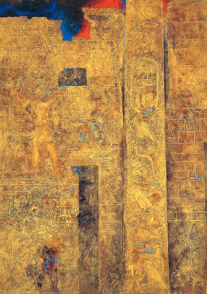 遺跡・エジプト「ルクソール神殿」